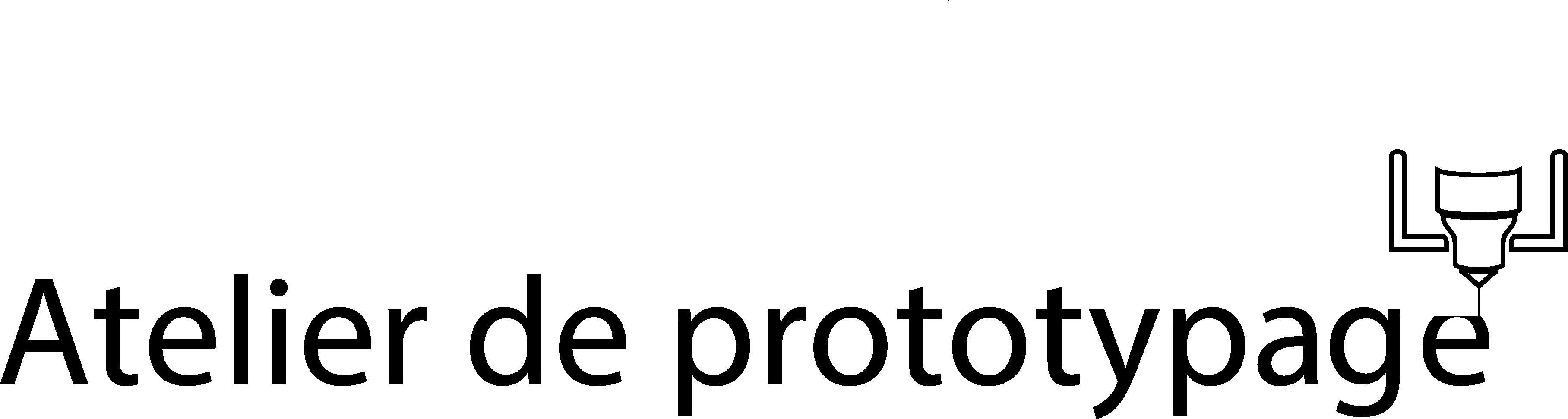 logo atelier de prototypage